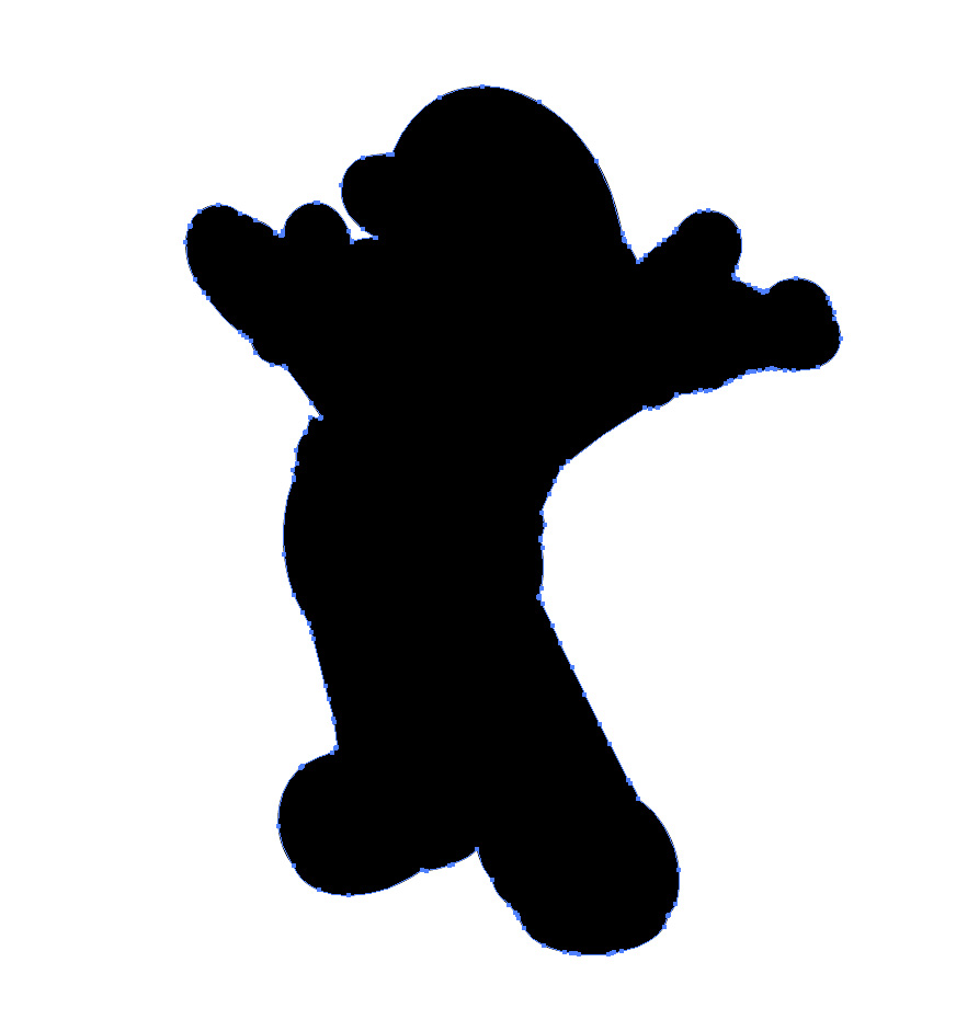 Silhouette Saturday ~ Mario Brothers Stickers | Crafty Meggy